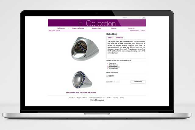Web design - The H Collection